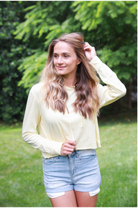 Pale Yellow Pullover