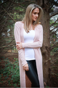 Pale Pink Duster