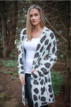 Load image into Gallery viewer, Leopard Print Cardigan