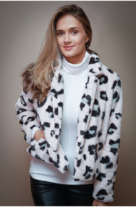 Blush Animal Print Jacket