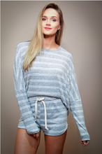 Load image into Gallery viewer, Grey Striped Pullover