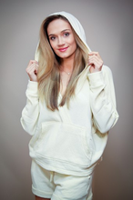 Load image into Gallery viewer, Pale Yellow Hoodie