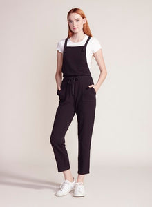 Black Overalls Jumpsuit