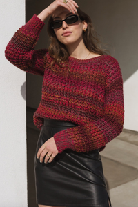 Red Tone Sweater