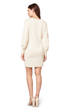 Load image into Gallery viewer, Cream Sweater Dress
