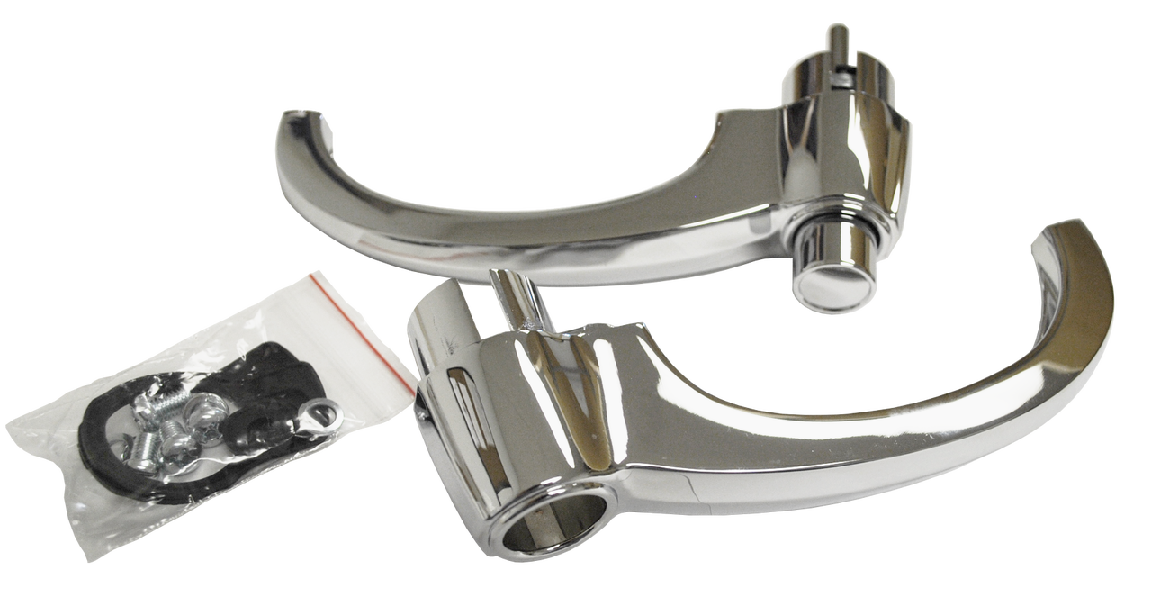 Outside Door Handle Set - Chrome - 60-66 C-10- Part#0848-351/352