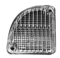 Back Up Lamp Lens - 67-72 C-10 - Part#0849-627L