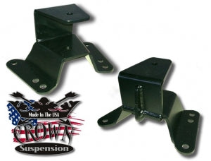 "Crown Suspension 2"" Lowering  Hangers - 73-87"