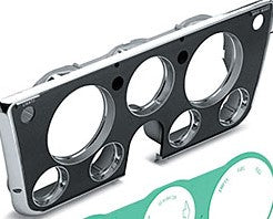Dash Bezel With Gauge Holes - 69-72