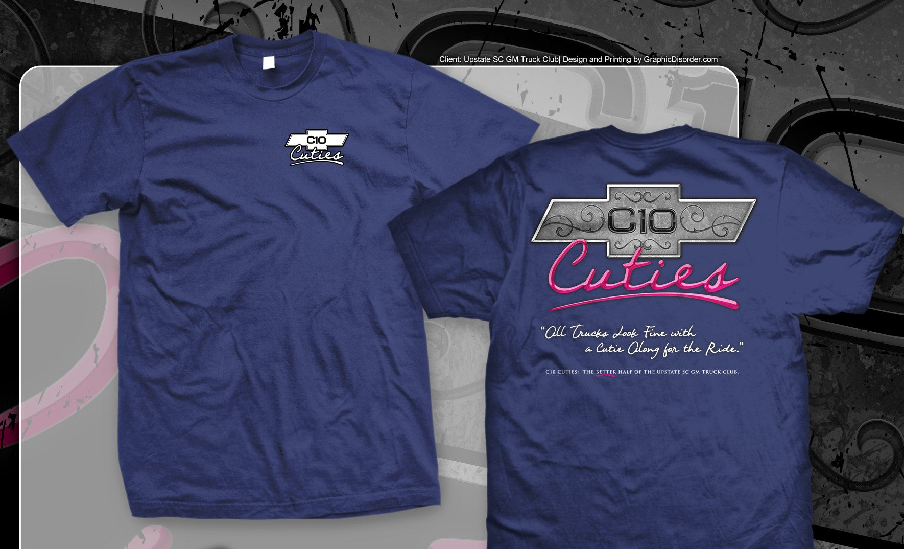 C-10 Cuties T-Shirt - Ladies Cut