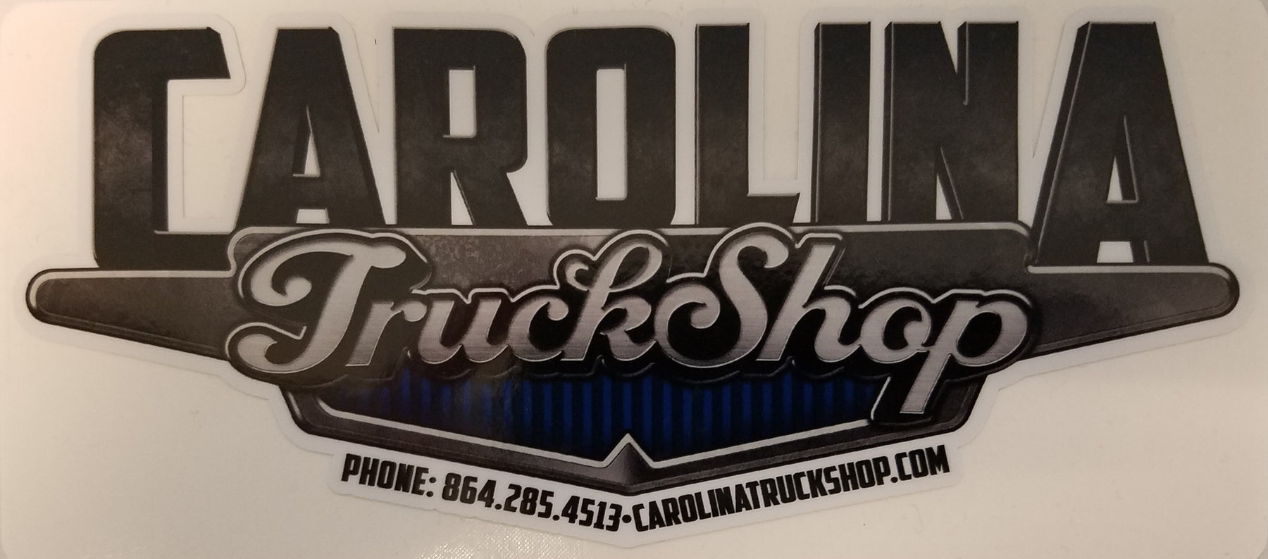 Carolina Truck Shop Decal - Medium Size