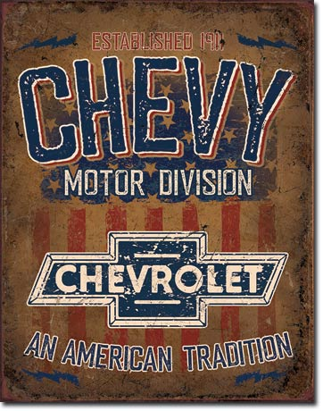 Metal Signs - Chevy American Tradition