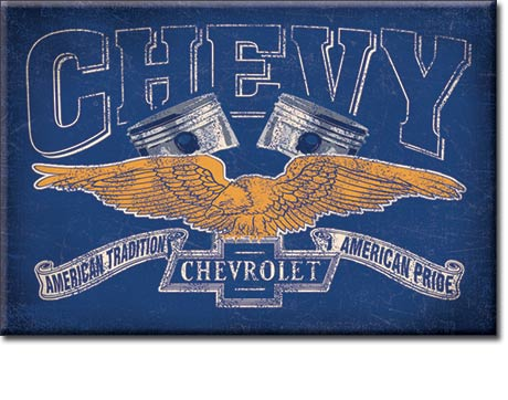 Metal Sign - Chevy Power