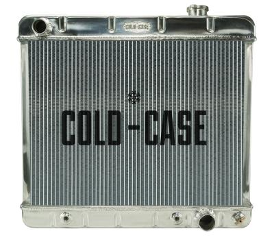 "Cold Case Aluminum Radiator With 16"" Fan Kit - 63-66"