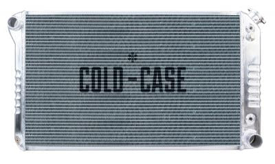 "Cold Case Aluminum 21"" Radiator - 77-87"