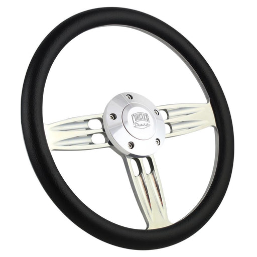 "Forever Sharp 14"" Double Barrel Steering Wheel"