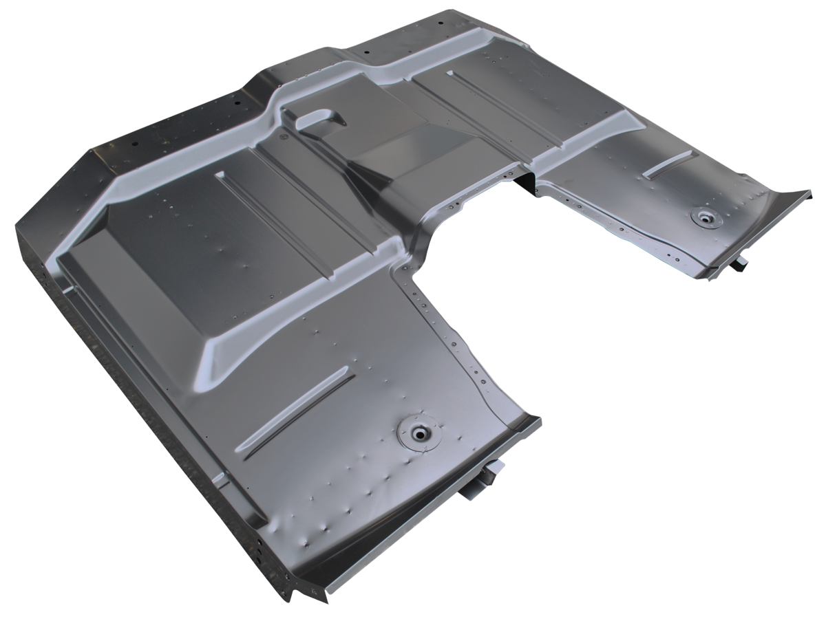 Full Floor Pan Assembly With Removable Trans Cover - 63-66 - Part#0848-207