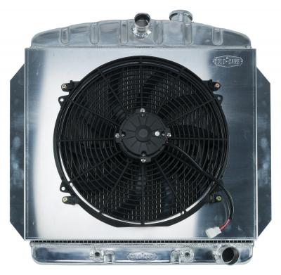 "Cold Case C/K Series Aluminium Performance Radiator With 16"" Fan Kit - 60-62"