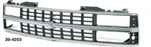 Grille - Chrome/Gray - 88-93
