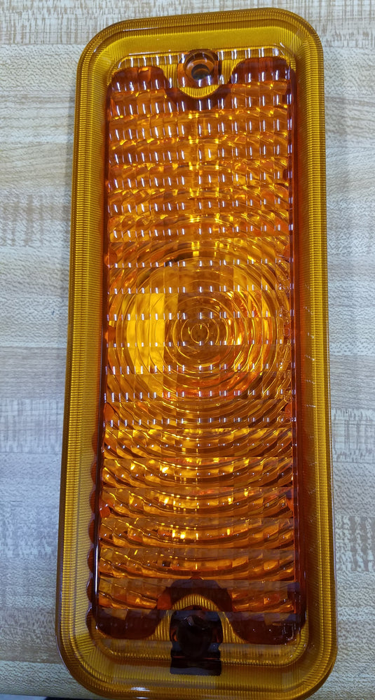 Park Light Lens - Left - Amber - 73-74