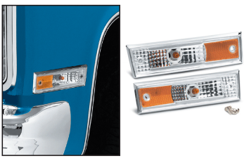 Front Side Marker Light Set - 81-89