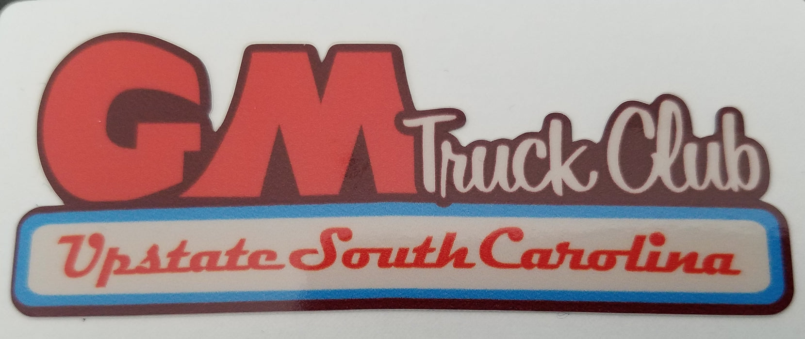 Upstate SC Truck Club Rust Logo Decal