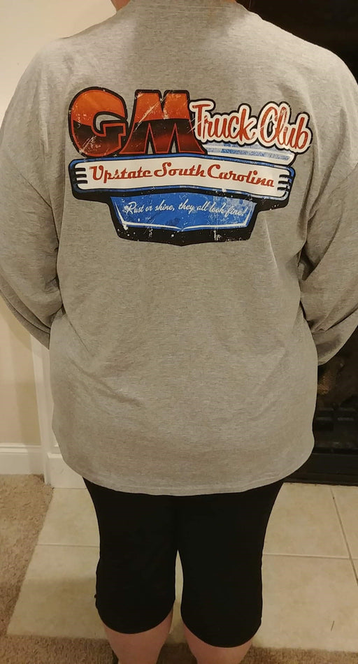Upstate SC GM Truck Club Long Sleeve Logo T-Shirt