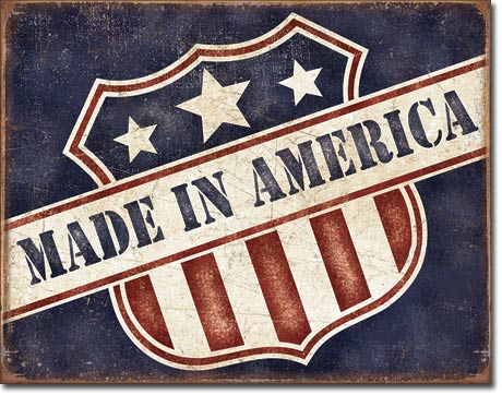 Metal Sign - Made in America