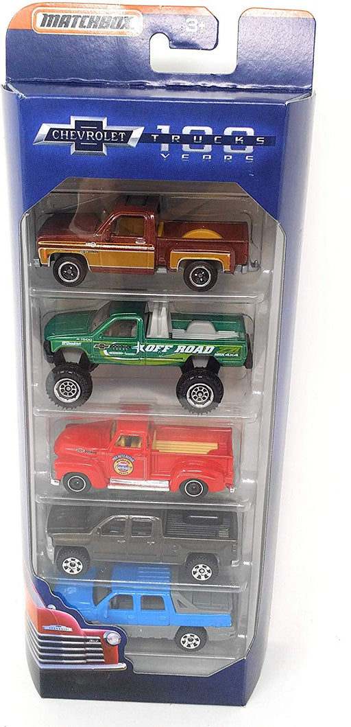 Matchbox GM 100th Anniversary Truck Set