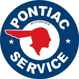 Metal Sign - Pontiac Service