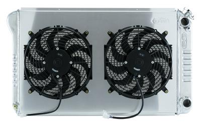 "Cold Case Aluminium 21"" Radiator & 12"" Fan Kit - LS Swap - 77-87"