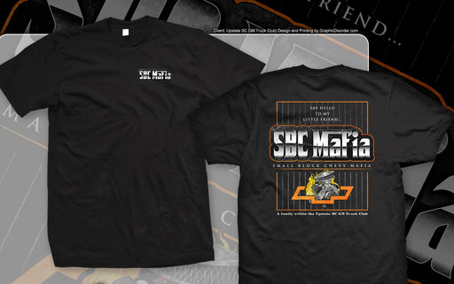 Small Block Chevy Mafia T-Shirt