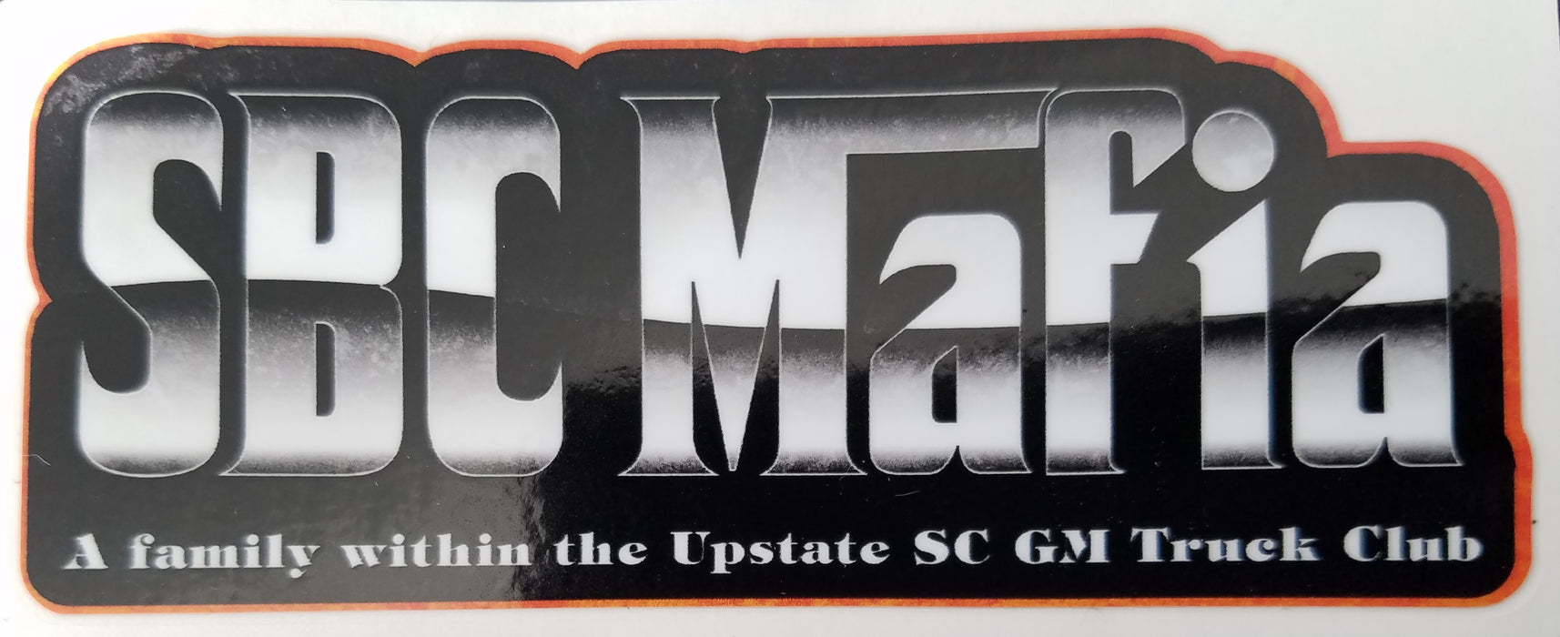 Small Block Chevy Mafia Decal