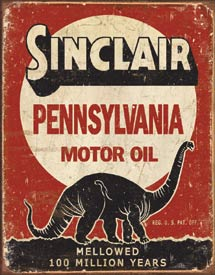 Metal Sign - Sinclair Motor Oil