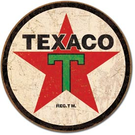 Metal Sign - Texaco