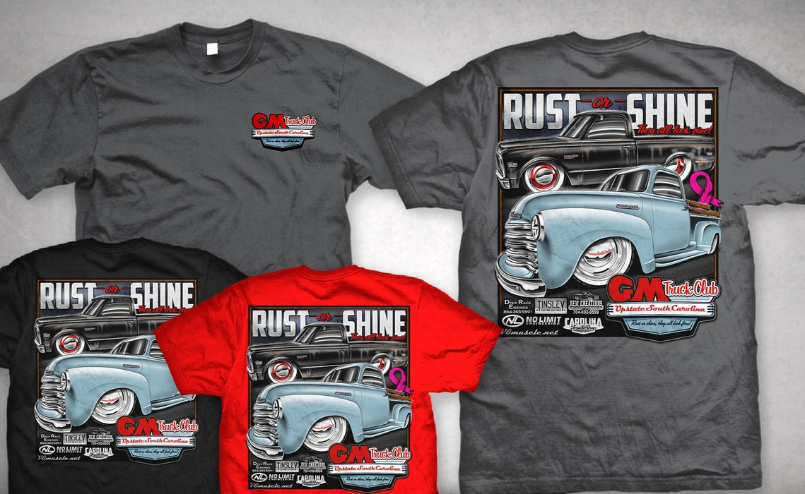 2020 Upstate SC GM Truck Club T-Shirt
