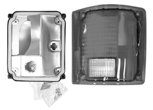 Rear Lamp Unit With Chrome Trim - 78-91 Blazer/Jimmy - Part#0851-614R