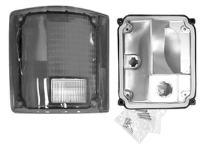 Rear Lamp Unit With Chrome Trim - 78-91 Blazer/Jimmy - Part#0851-613L