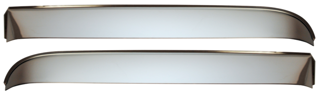 Vent Shades With Hardware - 73-87 Chevy/GMC Truck or 73-91 Suburban/Blazer - Part#0850-590