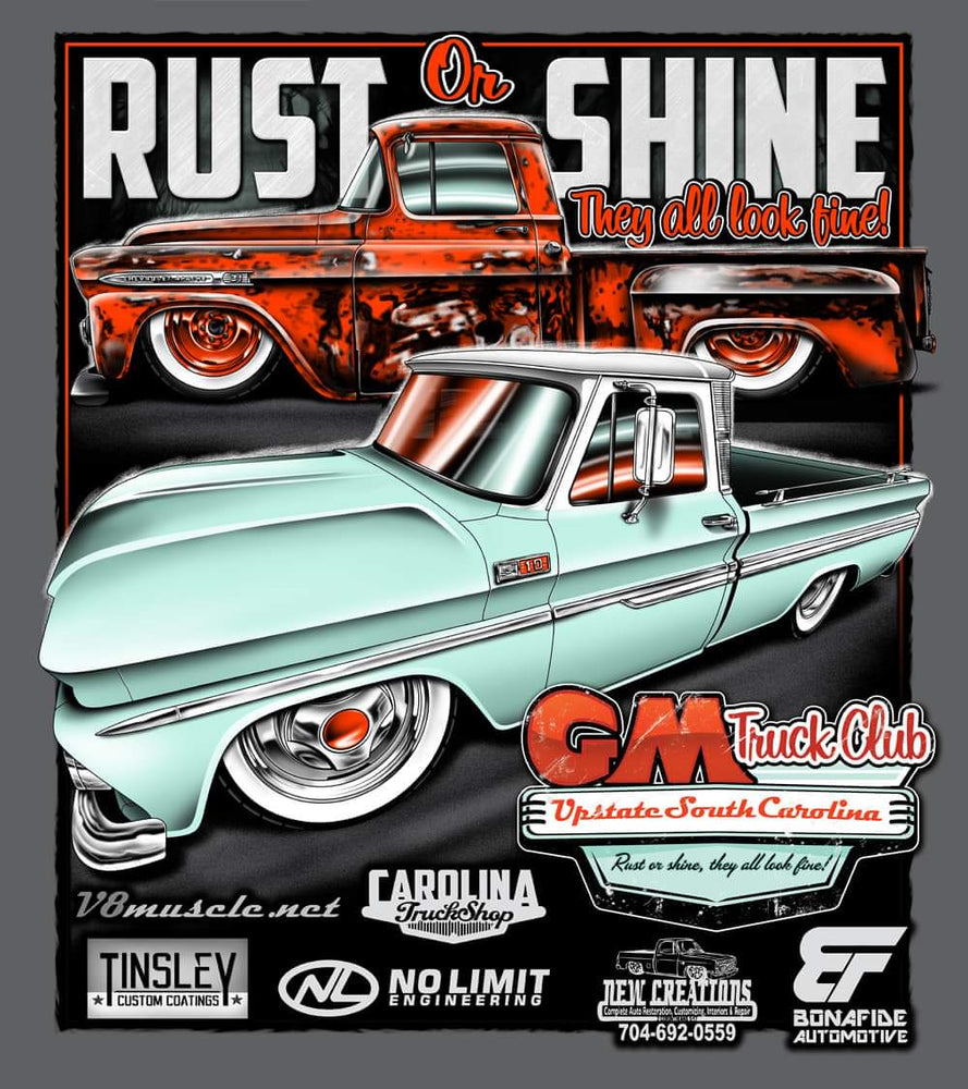 2019 Upstate SC GM Truck Club T-Shirt