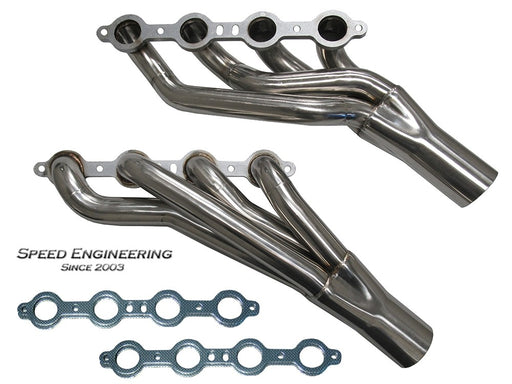 "Speed Engineering LS Mid-Length Headers 1 3/4"" Universal"