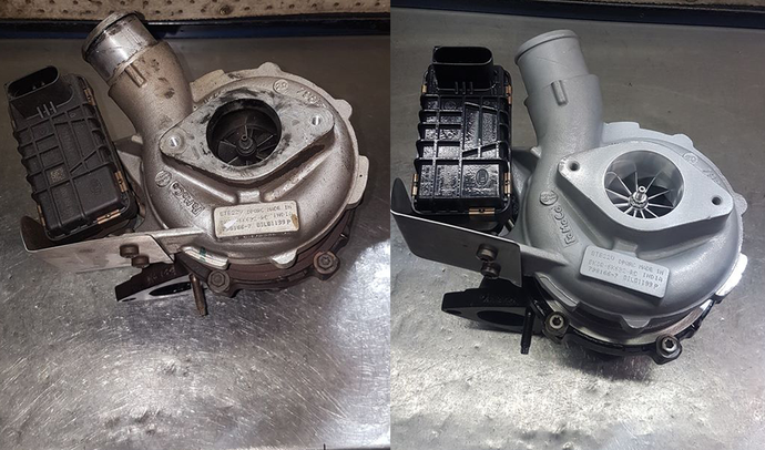 Old vs New - Remanufactured PX Turbo
