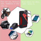 Car Jump Starter 600A Peak 13800mAh Paick E-129 (up to 6.0L Gas, 5.2L Diesel Engine) With Smart Jumper Clamp, Portable Vehicles Auto Battery Booster
