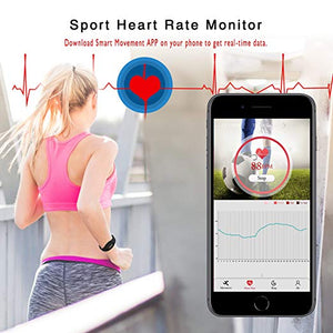Paick Fitness Tracker, Heart Rate Monitor Blood Pressure Monitor, Smart Watch, Pedometer, Activity Tracker Smart Wristband