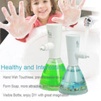 Automatic Foam Soap Dispenser Makife Touchless Electric Soap Dispenser 17oz/500ml Adjustable Form Control Hands Free for Kitchen Bathroom