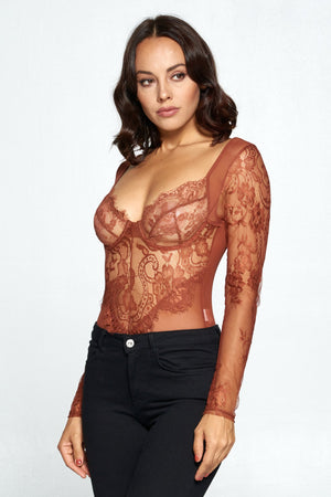 Laced Up Bodysuit
