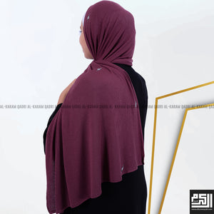 Load image into Gallery viewer, Cotton - Lycra Studded Shawl.