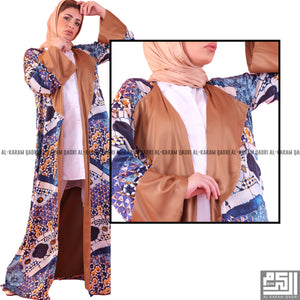 Load image into Gallery viewer, Printed Silk Abaya