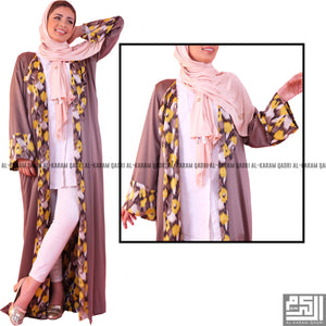 Unique Silk Abaya