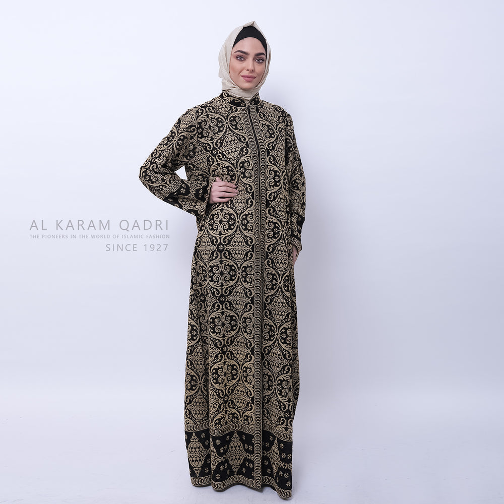 Striped One-Piece Track Suit - Al Karam Qadri